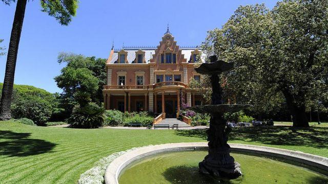 Villa Ocampo.