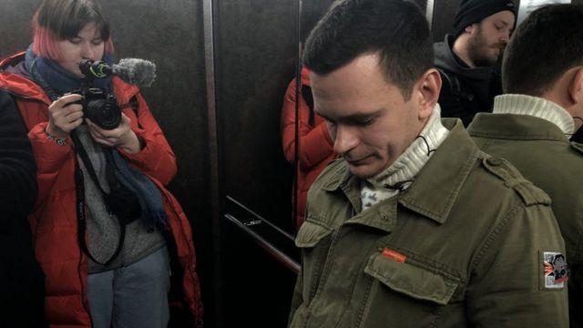 Яшин в лифте