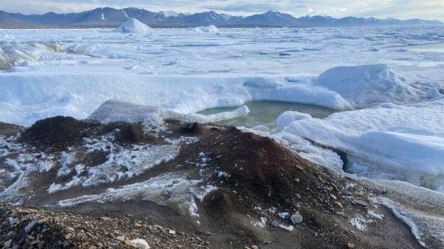 Nueva isla en Groenlandia