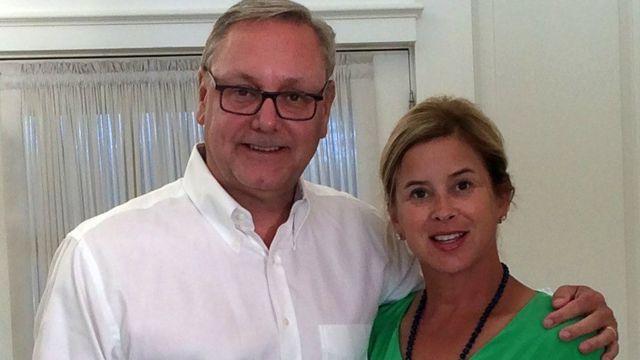 Ed Conard and Jill Davies