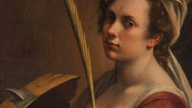 Self-Portrait as Saint Catherine of Alexandria