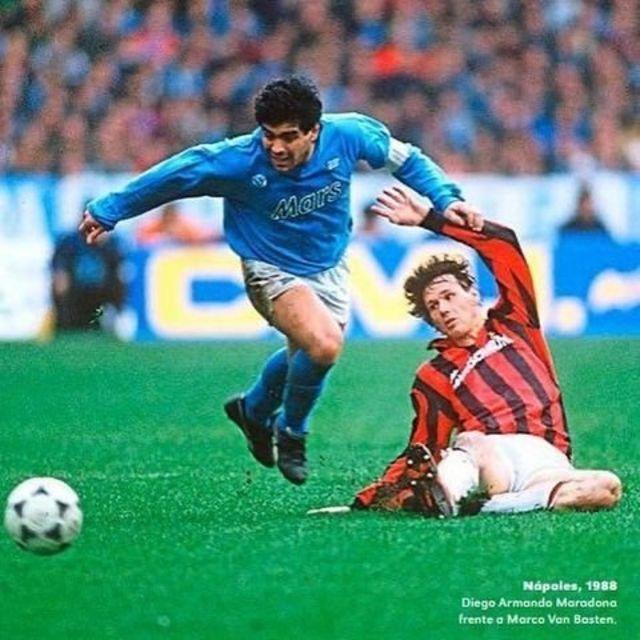 Maradona ve Van Basten