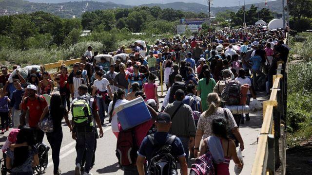 Fronteira entre a Colômbia e a Venezuela