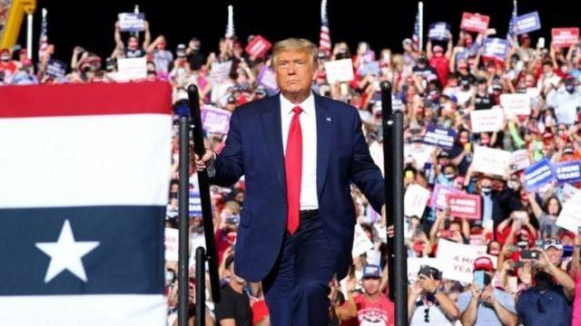 Donald Trump hakuweza kuvumilia kutoimshambulia Barack Obama