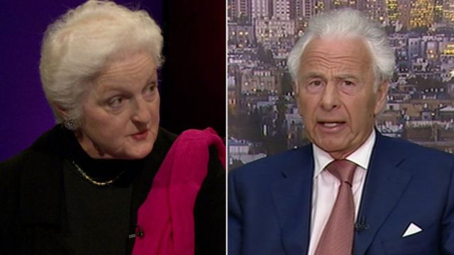 Baroness Julia Neuberger and Lord Levy
