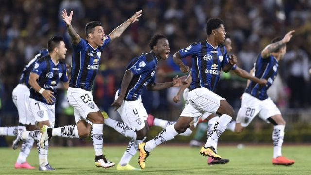 Jugadores del Independiente del Valle