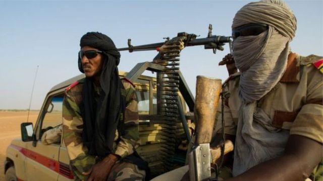Aworan awọn ọmọ ogun Mali