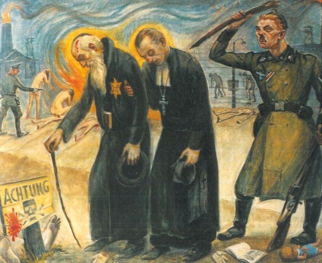 ओलर पेंटिग- यहूदी और ईसाई पीड़ित