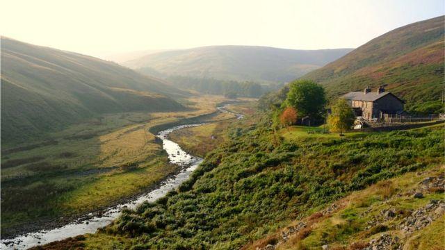 Ланкаширский пейзаж