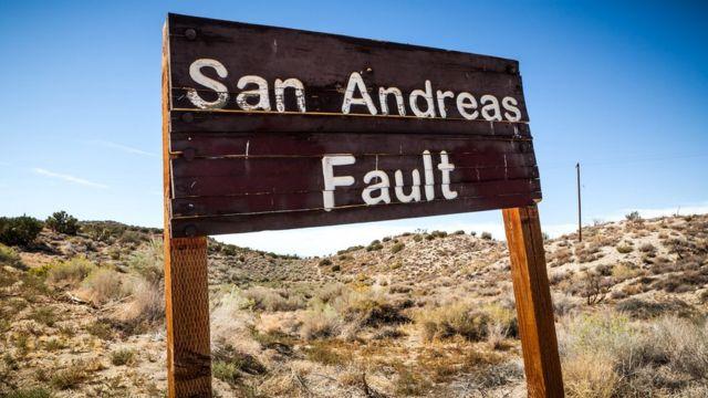 Разлом Сан-Андреас в Калифорнии