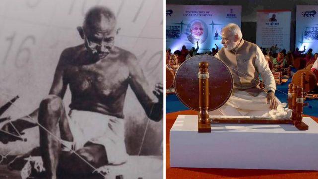 गांधी और मोदी