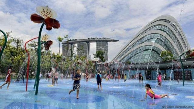 सिंगापुर का गार्डन्स बाई द बे