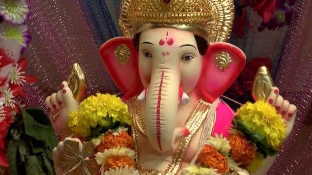 Бог Ганеш является одним из главных в индуистском пантеоне