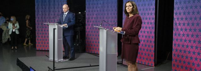 Mark Kelly y Martha McSally