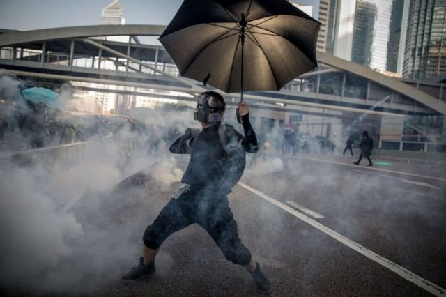 Hong Kong protestas.
