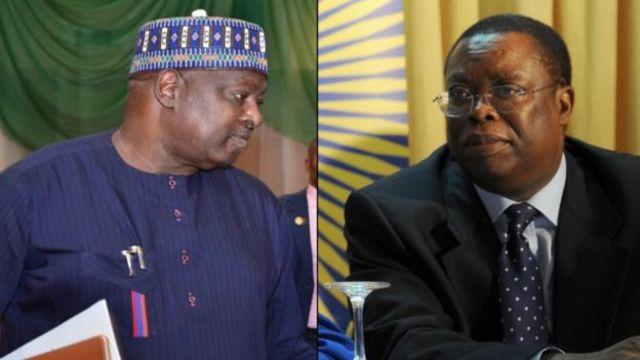 Babachir Lawal and Ayodele Okena