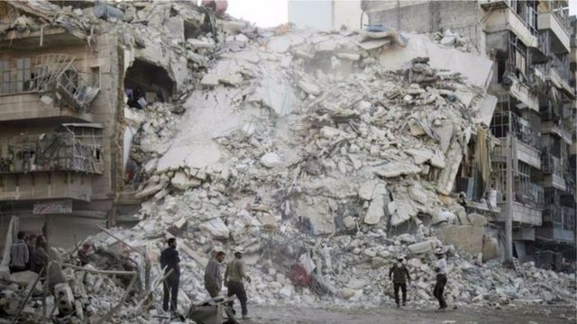 Igice kinini c'igisagara ca Alep carasambutse