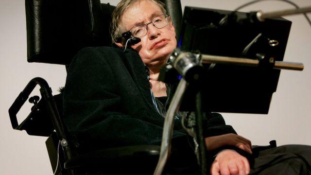 Stephen Hawking na mmuta