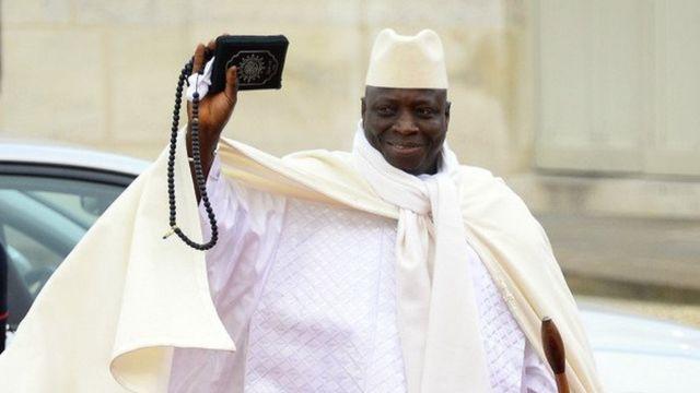 Le président Yahya Jammeh brigue un 5e mandat