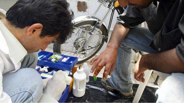 معتادان در تهران