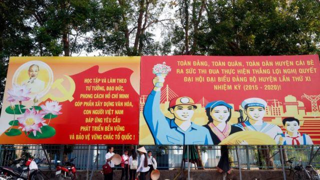 Việt Nam là một địa chỉ có nhiều khẩu hiệu