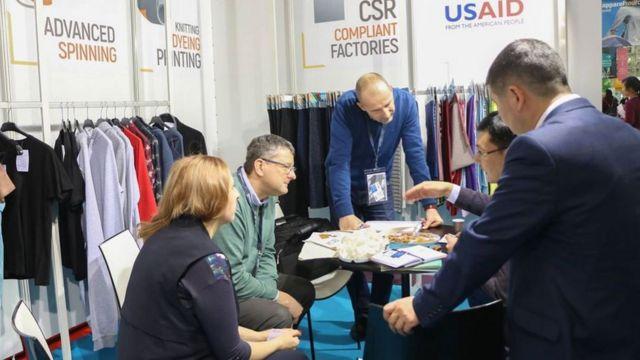 Париждеги Apparel Sourcing Paris текстиль жарманкеси кыргызстандык кийим өндүрүүчүлөр жакшы аянтча