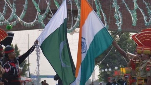 भारत-पाकिस्तान झंडा