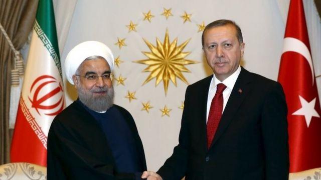 Tayyip Erdogan ariko aramukanya na Hassan Rouhani