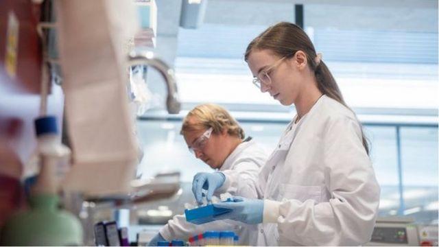 牛津/阿斯利康制药合作的疫苗目前在最后试验阶段(Credit: OXFORD UNIVERSITY/JOHN CAIRNS)