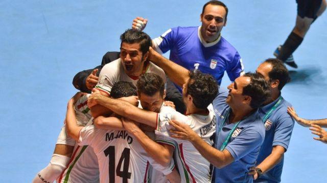 تیم ملی فوتسال، جام جهانی، ایران