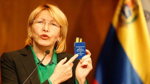 Adalet Bakanı Luisa Ortega
