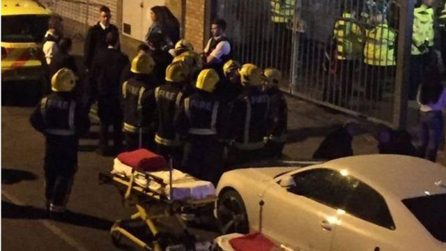 L'incident s'est produit au Mangle, une discothèque dans le nord-est de la capitale britannique, où se trouvaient environ 600 personnes