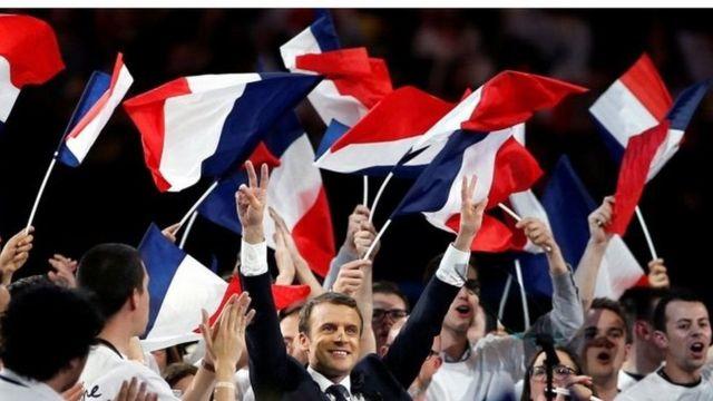 Macron na Le Pen wanaongoza katika kura ya maoni