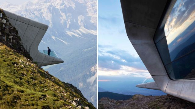 Museo de la Montaña Messner Zaha Hadid Architects