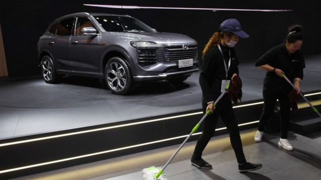 زوتی مدل جدید T600 را به تازگی در نمایشگاه خودروی شانگهای رونمایی کرد