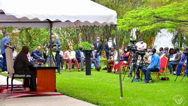 Le président Tshisekedi