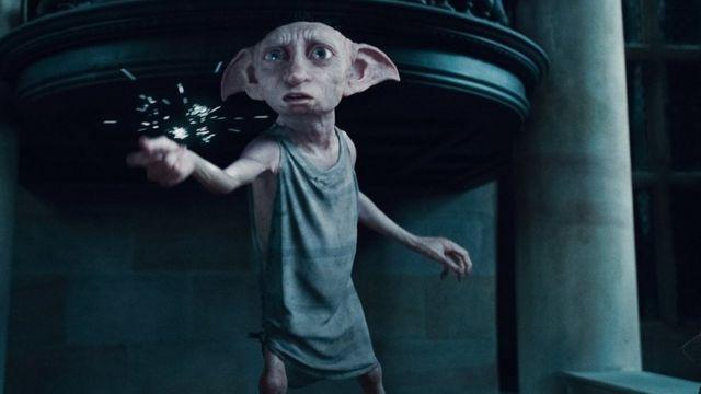 Imagem de Dobby, o elfo doméstico do filme Harry Potter