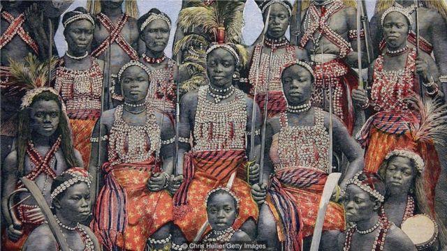 亚马逊女战士以无畏勇武而着称。