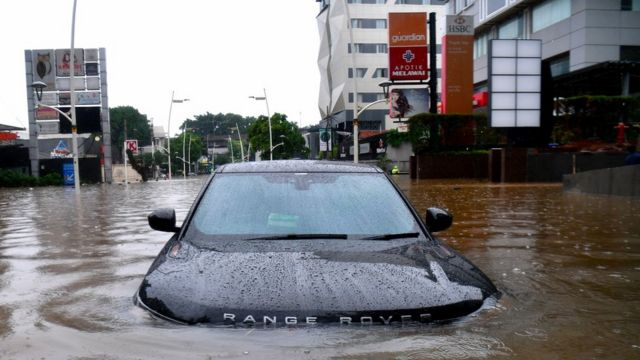 Hasil gambar untuk jakarta banjir
