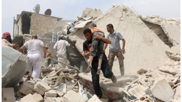 Ataque en Alepo, Siria