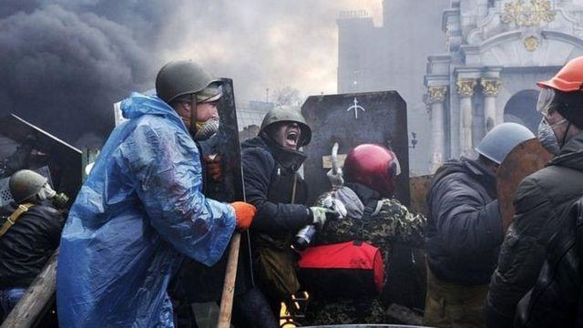 протесты в Киеве, 2014 год