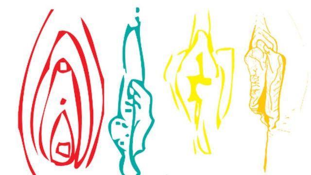 Desenhos de vulvas