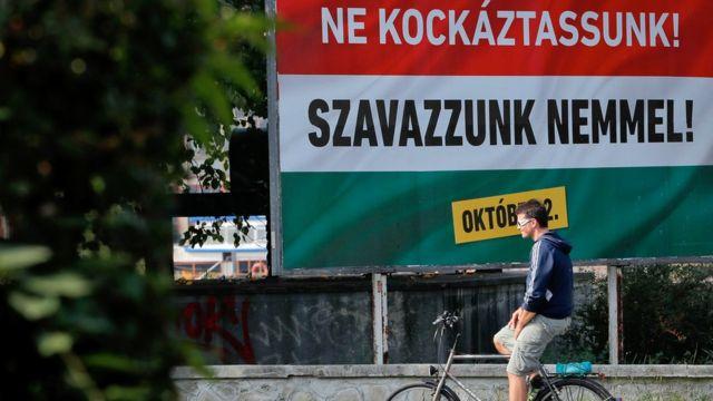 همهپرسی مجارستان درباره سهمیه اجباری اتحادیه اروپا برای پذیرش پناهجویان