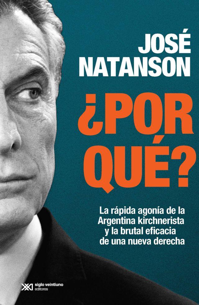 Tapa del libro de Jose Natanson