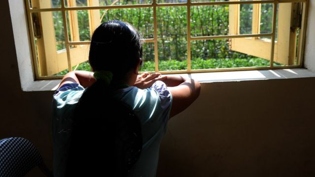 Một nạn nhân buôn người dưới vị thành niên từng bị bán qua Trung Quốc