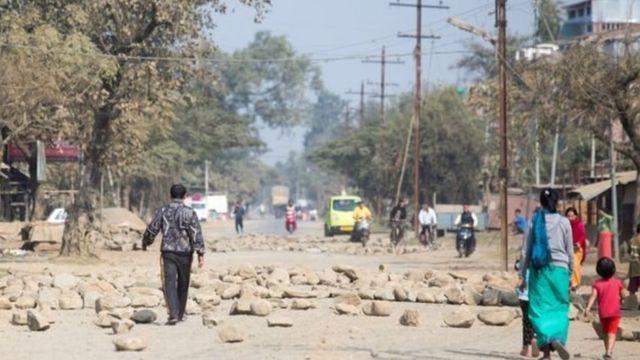 मणिपुर में हिंसा
