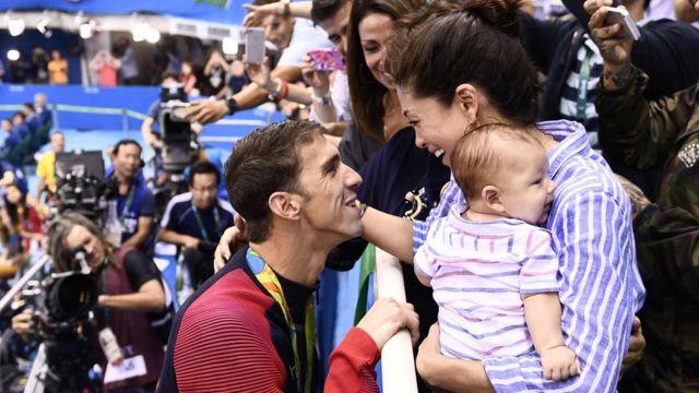 Phelps y familia