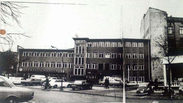 Xafiiskii BBC galbeedka Berlin ee Savignyplatz