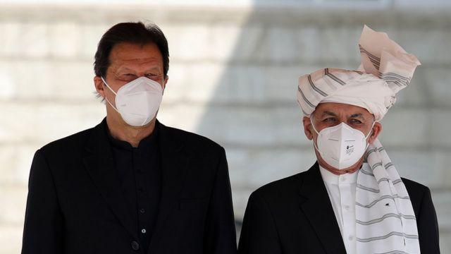 صدر اشرف غنی اور عمران خان