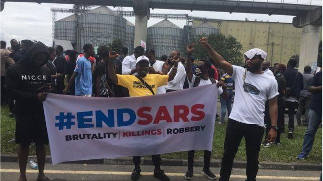 #ENDSARS Protesters for Port Harcourt